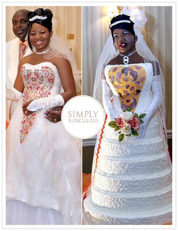 Life-size bride